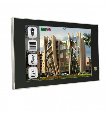 BX EIB/KNX THEO10 Touch Panel HD Cromo&Nero BX-T10IP