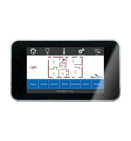 """BX EIB/KNX KAIROS24 Touch Panel 4"""" Nero BK-K24MS"""
