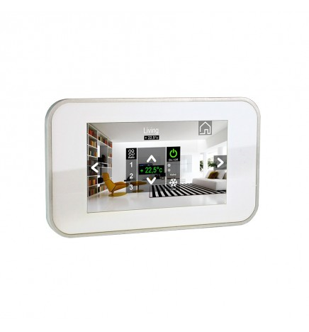 """BX EIB/KNX KAIROS27 Touch panel 7"""" White BX-K27MSW"""