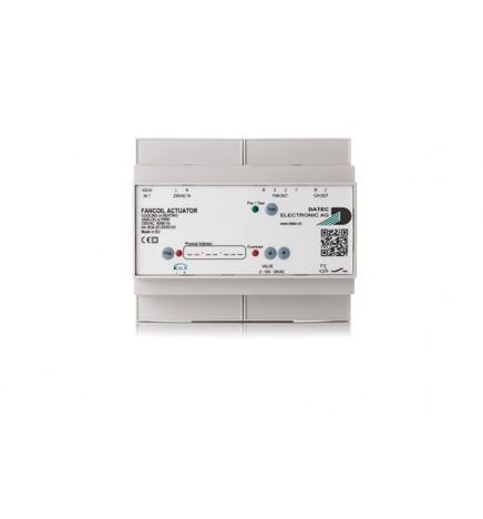 D.E AG KNX Attuatore Fancoil Caldo Freddo & Controllo Analogico 0-10V o PWM