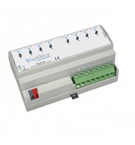 BX EIB/KNX Attuatore 8CH 16A (8 DIN) BX-ACT08