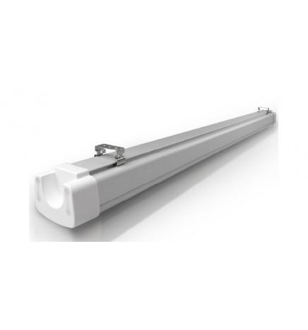 S.T. Plafoniera LED 40W IP65 5000lm 4000K Diffusore Smerigliato 120cm