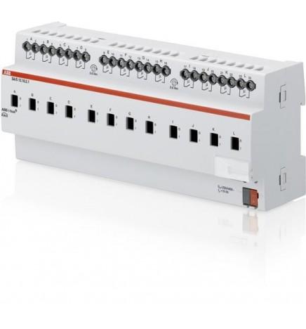 ABB EIB / KNX Terminale di uscita 12CH 10A MDRC (12 DIN) SA/S12.10.2.1