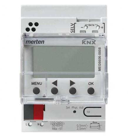 MRT EIB / KNX Time switch 8CH (3 DIN)