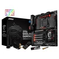 MSI MB X99A GODLIKE GAMING CARBON LGA 2011 8*DDR4 5*PCI-E 10*SATA3 SATA EXPRESS