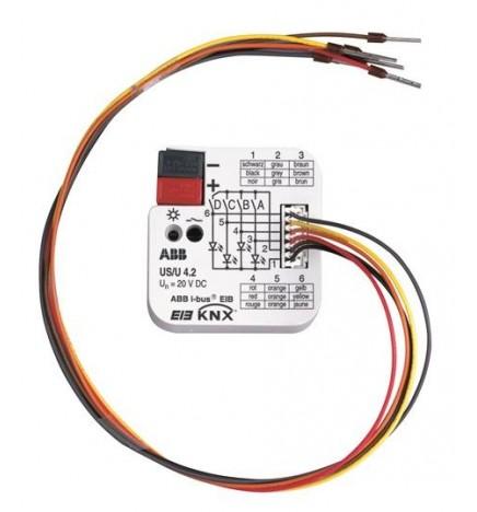 ABB EIB/KNX Interfaccia Universale 4CH FM US/U 4.2