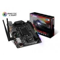 MSI MB Z270I GAMING PRO CARBON AC LGA1151 2*DDR4 PCI-E 4*SATA3 2*USB3.1
