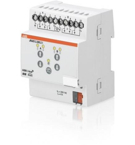 ABB EIB / KNX Blind/Roller Shutter Actuator 2CH MDRC (4 DIN)