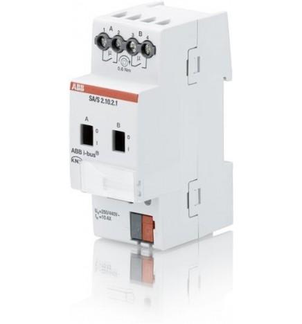 ABB EIB / KNX Switch actuator 2CH 10A MDRC (2 DIN)