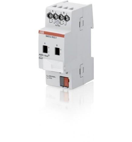 ABB EIB / KNX Switch actuator 2CH 16A MDRC (2 DIN)