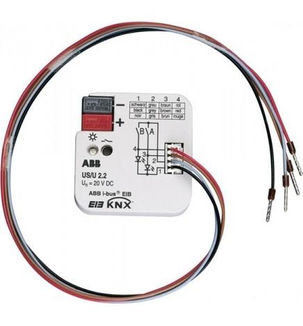 ABB EIB / KNX Interfaccia Universale 2 contatti FM US/U 2.2