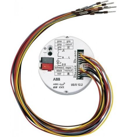 ABB EIB / KNX Interfaccia Universale 12 contatti FM US/U 12.2