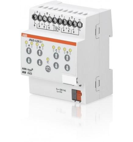 ABB EIB / KNX Blind/Roller Shutter Actuator 4CH MDRC (4 DIN)