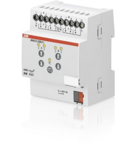 ABB EIB/KNX Attuatore Tapparelle Calcolo Movimento 2CH (4 DIN) JRA/S2