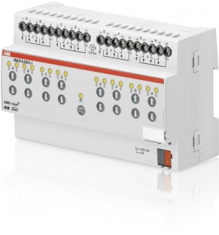 ABB EIB/KNX Attuatore Tapparelle Calcolo Movimento 8CH (8 DIN) JRA/S8