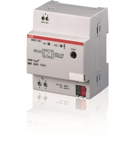 ABB EIB / KNX Dali Gateway 1CH 16 Gruppi MDRC (4 DIN) DG/S 1.16.1