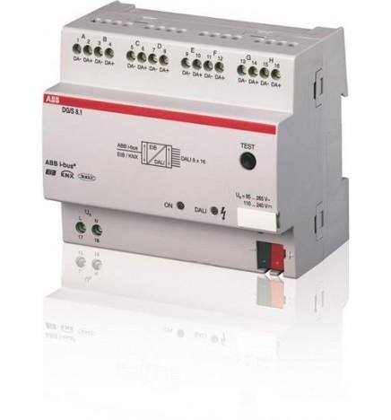 ABB EIB / KNX Gateway DALI 8 canali MDRC (6 DIN) DG/S 8.1