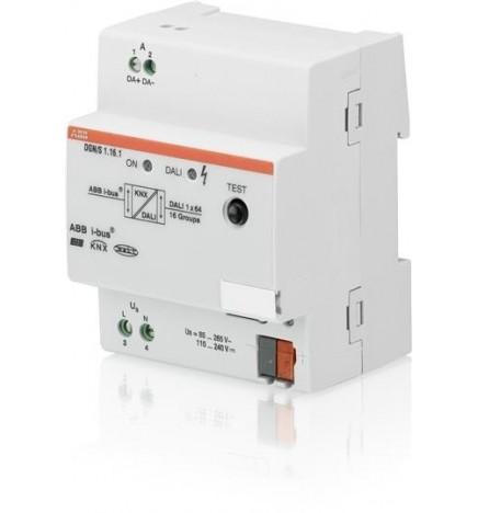 ABB EIB/KNX Dali Gateway Controllo Luce Emergenza 1CH (4 DIN) DGN/S1.16.1
