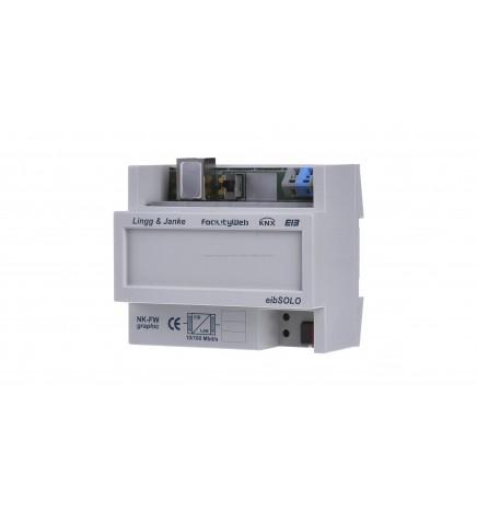L&J KNX FacilityWeb Accoppiatori di Rete grafico / Analizzatore di Energia Data Logger