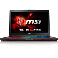 MSI NB GT62VR 6RD DOMINATOR I7-6700HQ 16GB 128GB SSD + 1TB 15.6 FHD ANTI-GLARE GTX 1060 6GB WIN 10 HOME