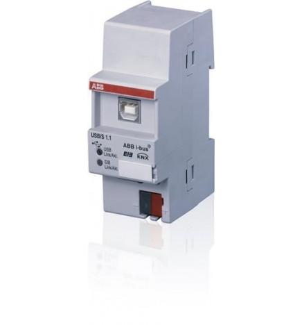 ABB EIB / KNX Interfaccia USB, MDRC (2 DIN) USB/S 1.2