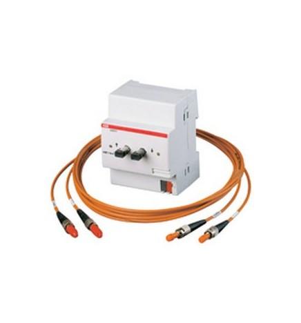 ABB EIB / KNX Optical Fibre Interface, MDRC (4 DIN)