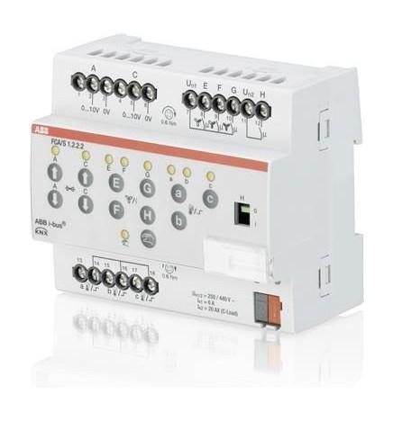 ABB EIB / KNX Attuatore Fan Coil 0-10V (6 DIN)
