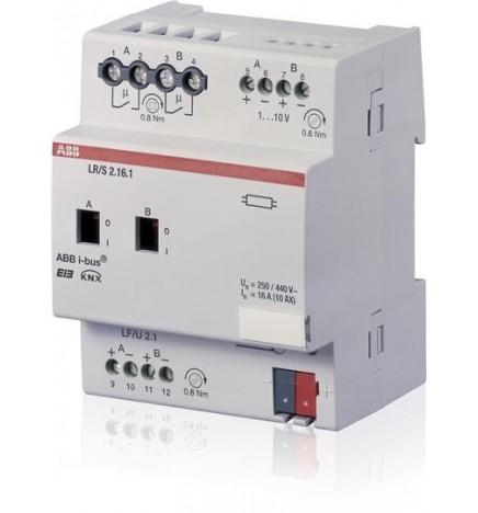 ABB EIB/KNX Regolatore Luminosità 2CH 16A (6 DIN) LR/S 2.16.1