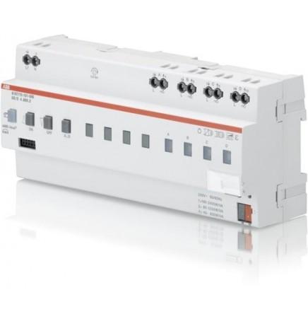 ABB EIB / KNX Universal Dim Actuator, 4-fold, 600 VA, MDRC (12 DIN)