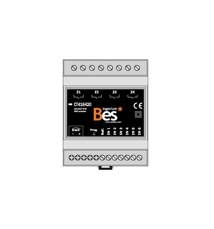 BES Actuator Multifunction 6 Digital Inputs 4 Digital Outputs (4 DIN)