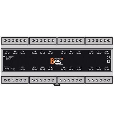 BES Attuatore Multifunzione 22 Uscite 16A (12 DIN)
