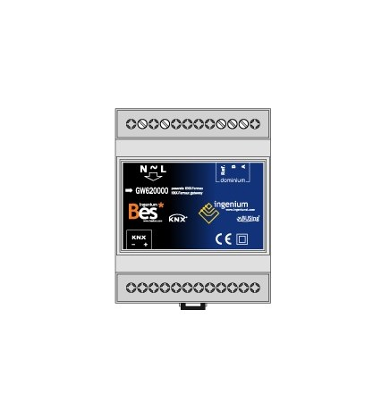 BES Fermax Smile Dominium Gateway Video Door KNX