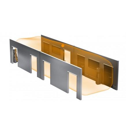 Steinel KNX Dual HF Rilevatori Presenza Alta Frequenza