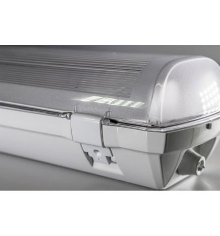 BIOLEDEX® Plafoniera DOLTA 120 cm IP66 (Alloggia 2 tubi led)