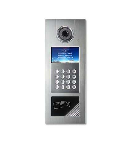 """TCP/IP Videocitofono Postazione Esterna ID Display 4.3"""" Wifi"""