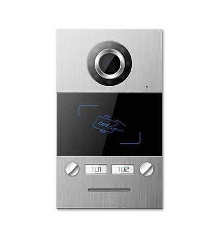 TCP/IP Video Door Phone Mini Outdoor Station Villa Type Card Reader
