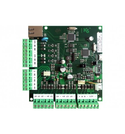 Ksenia Lares 48-IP Motherboard Integrated Ethernet Interface. Web Server Onvif