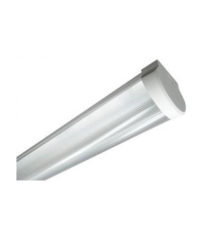 BIOLEDEX® Plafoniera SIMPO 120 cm IP40 (Alloggia 2 Tubi Led)