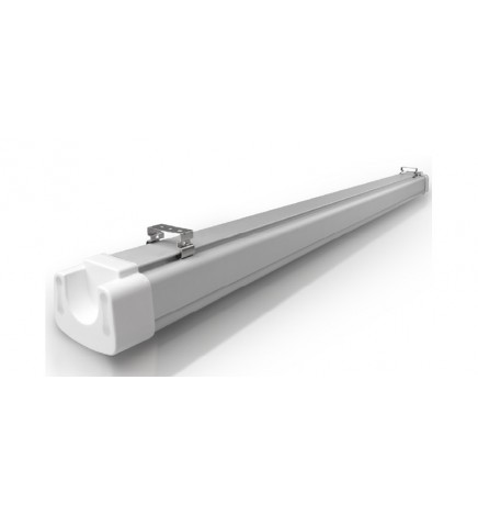 S.T. IP65 LED Tri-proof Light 60W 8000lm 4000K frosted diffuser 150cm