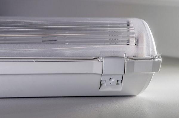 Plafoniere Led 150 Cm : Bioledex® plafoniera dolta 150 cm ip66 alloggia 2 tubi led