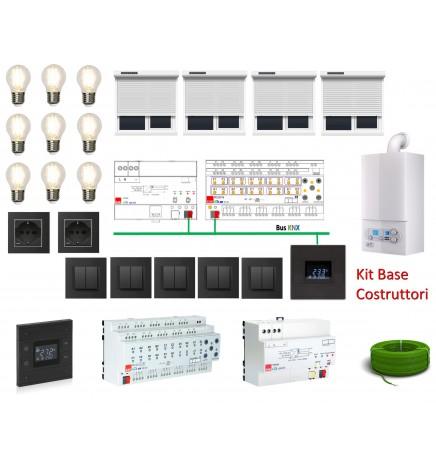 Domotica Costruttori Kit Base Plug&Play Preconfigurato