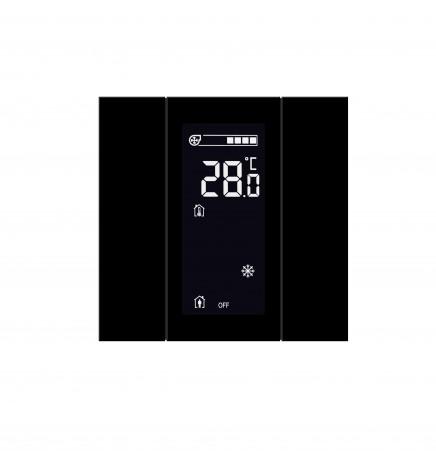 Iswitch PI Control LCD 2 Pulsanti Vetro Vari Colori