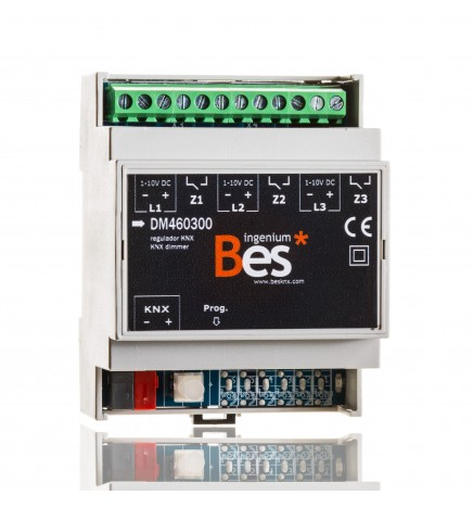 BES 3-Channel Dimmer Electronic Ballasts (1-10V)