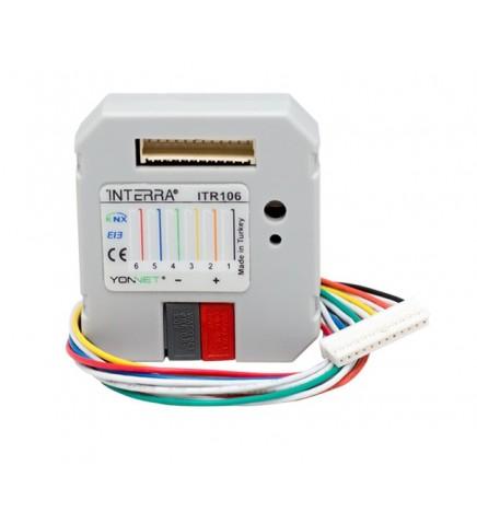 Universal Interface Binary Input Module 6 Channels