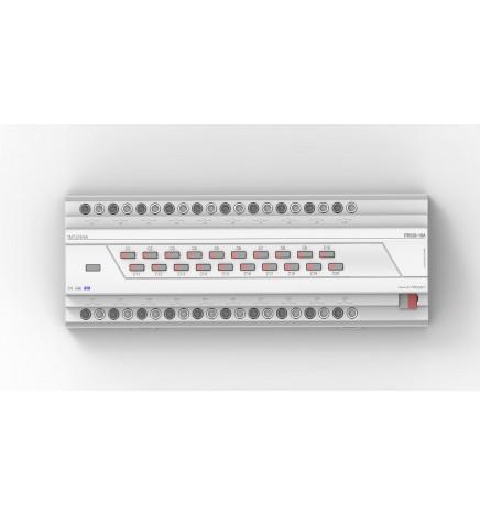 Attuatore Multifunzione 20 Canali 16A Comando Manuale