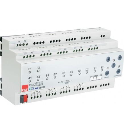 EAE KNX Room Controller Unit 12 Uscite + 12 Ingressi RCU1212