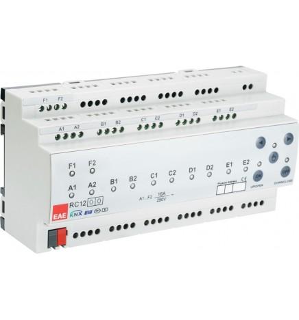 EAE KNX Controller 12 Uscite Attuatore Multifunzione RCU1200