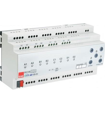 EAE KNX Controller 8 Uscite Attuatore Multifunzione RCU0800