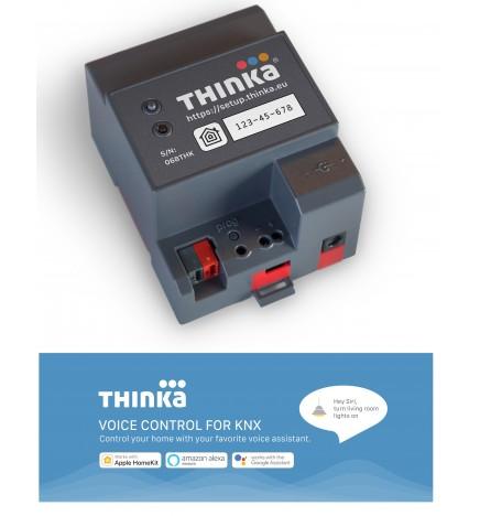 Thinka KNX Sistema Controllo Vocali E Visualizzazione Sirti & Alexa
