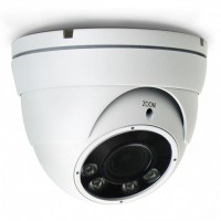 AVTECH Telecamera Dome IP POE IR Varifocale 2MP Soffitto IP66 AVM2432TP